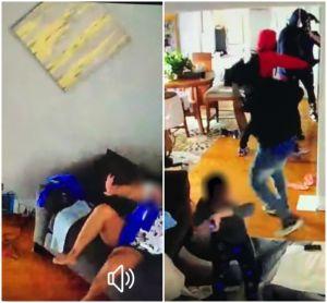 Niño de 5 años se enfrenta a cuatro ladrones armados en su casa para defender a su madre