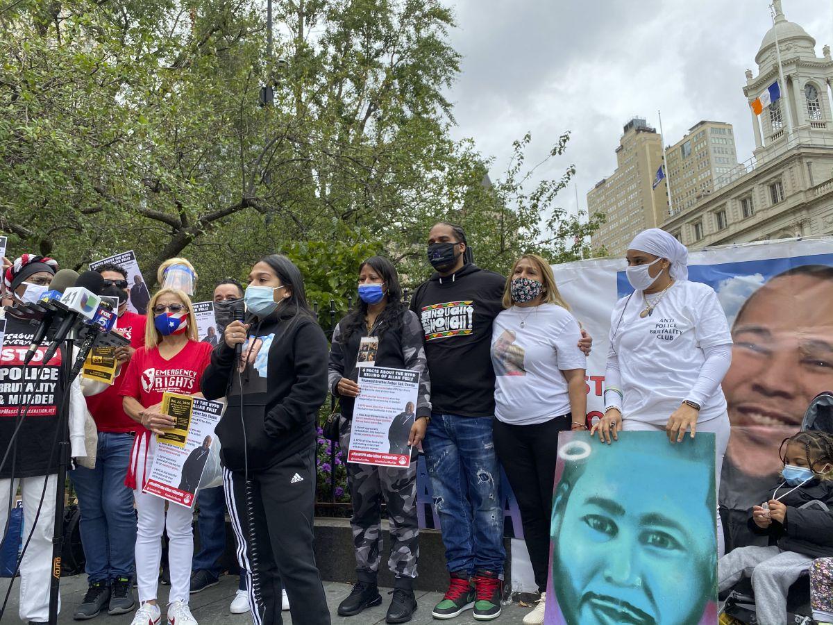 Exigen al alcalde despida a policías involucrados en incidente en el que murió un dominicano