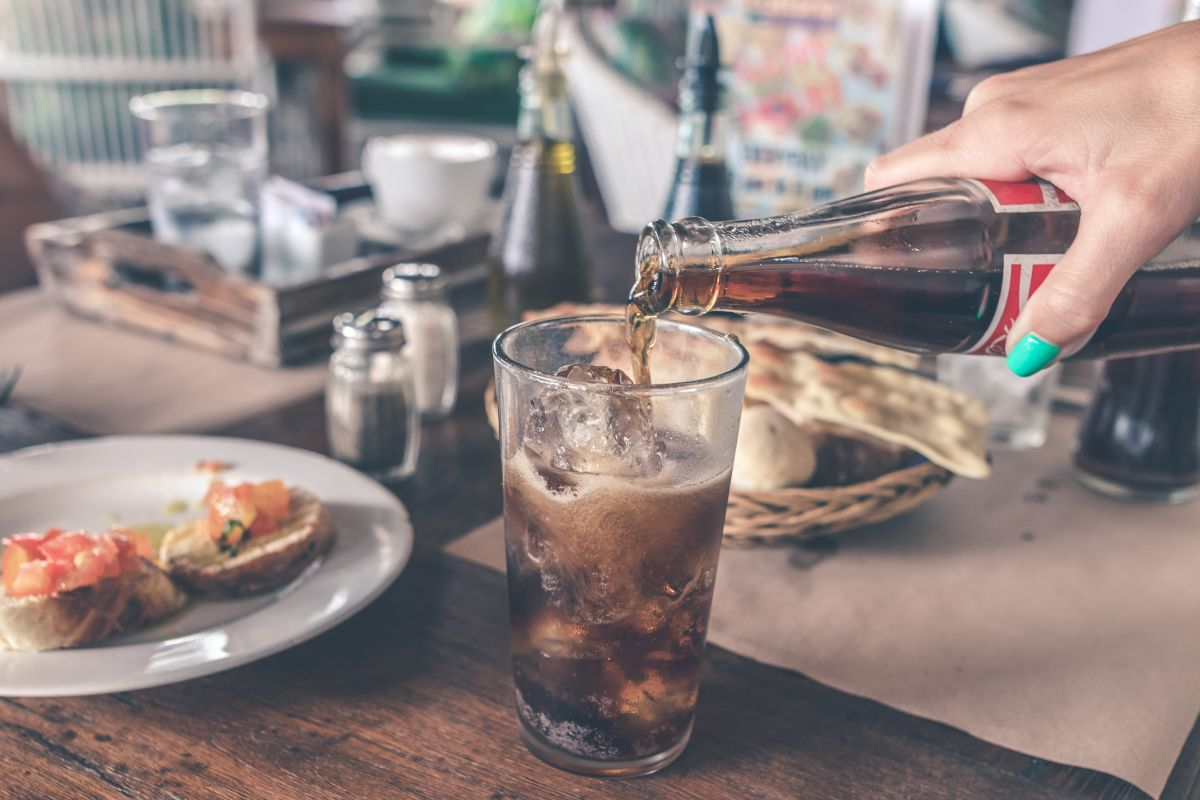 Is drinking a caffeinated soda worse than drinking coffee?