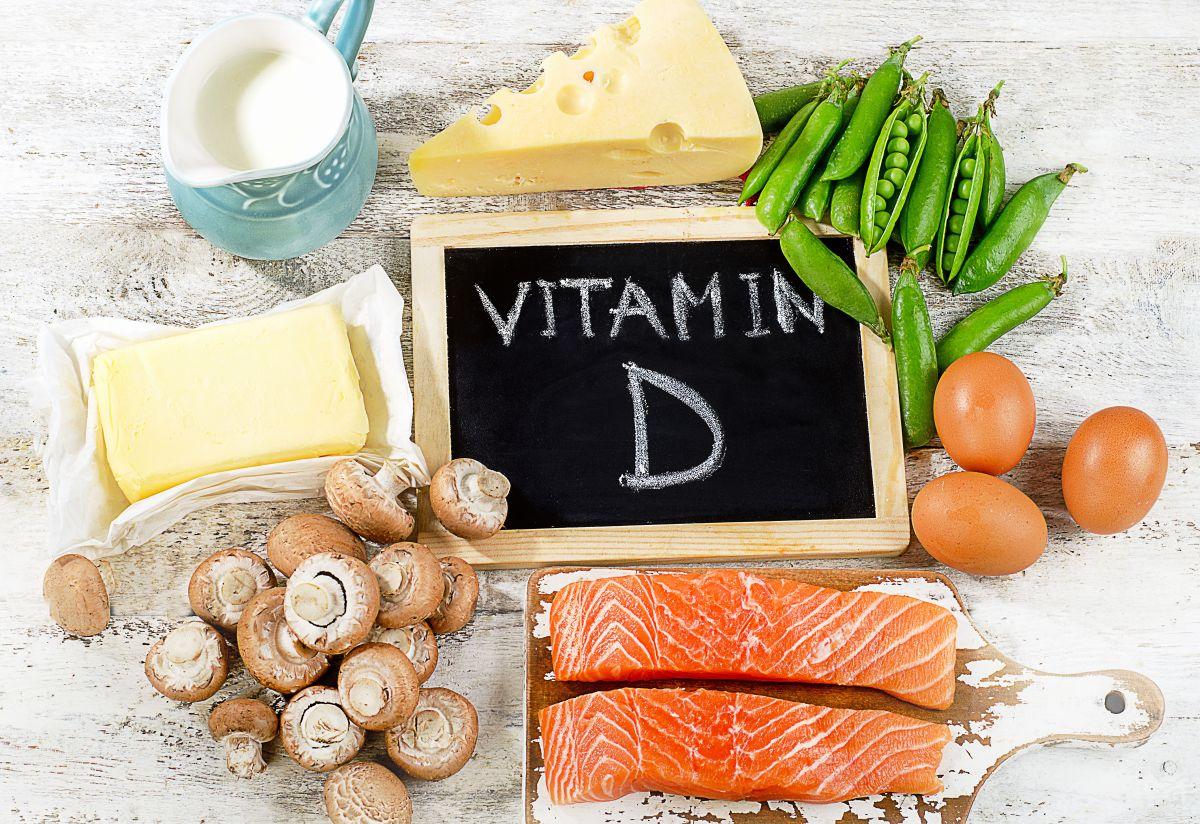 Hay muchos alimentos ricos en vitamina D.