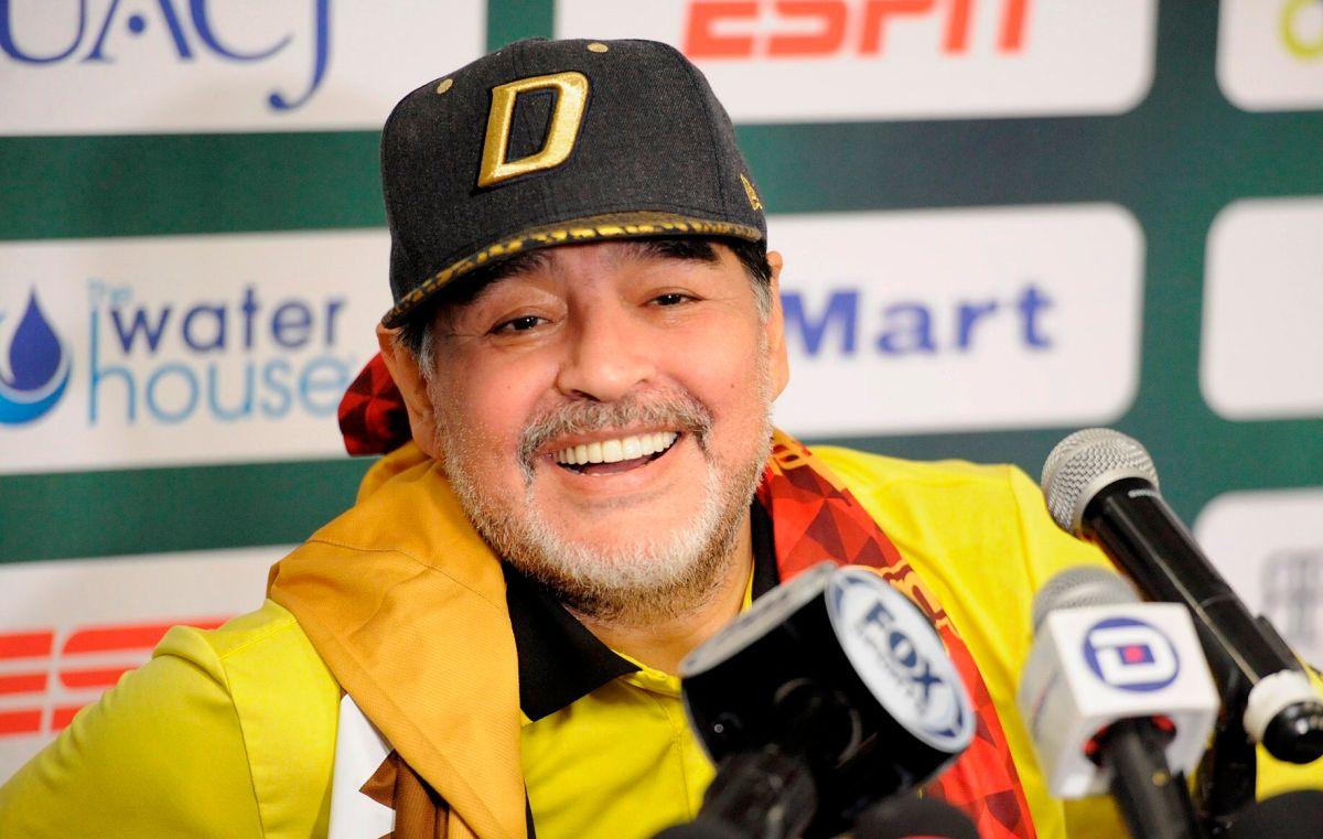El último baile de Maradona: La cumbia que mostró el deteriorado estado de salud del ídolo
