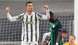 Con goles de Cristiano Ronaldo y Álvaro Morata, la Juventus avanzó a octavos de final en la Champions League