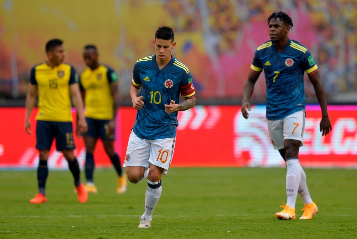 Colombian Federation and James Rodríguez deny alleged fight between selected