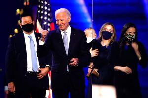 Anciana se conmueve hasta las lágrimas al enterarse del triunfo de Biden en las elecciones