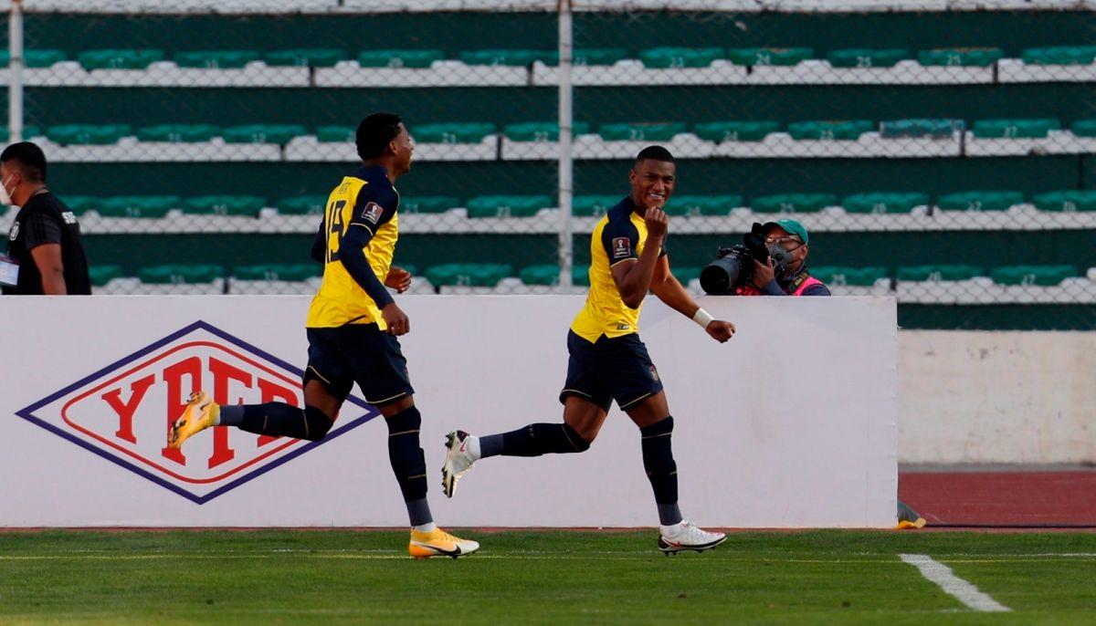 Triunfo clave: Ecuador derrota a Bolivia en La Paz en duelo de eliminatorias mundialistas