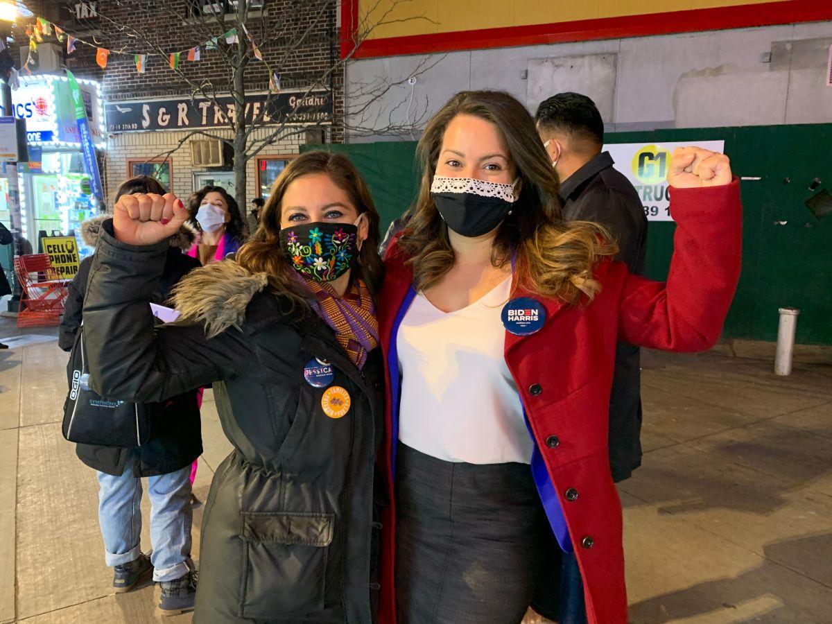 Sin fiestas ni aglomeraciones por el COVID-19, candidatos neoyorquinos esperaron resultados electorales