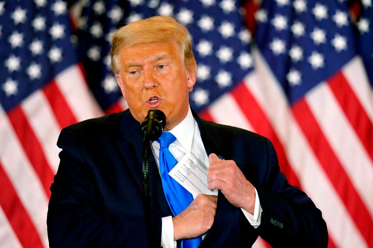 Trump planea lanzar su candidatura del 2024 en inauguración de Biden, según reporte