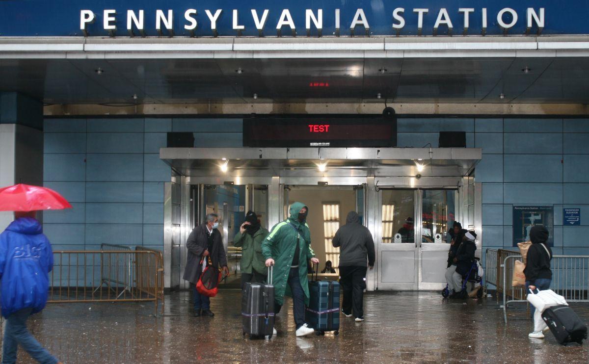 Penn Station, NYC.