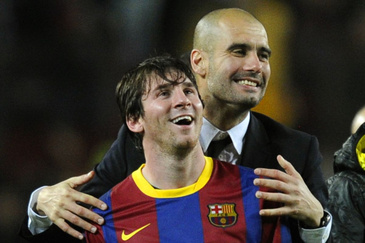 Surprise: Pep Guardiola wants Messi to stay at Barcelona