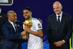 Se lució: Riyad Mahrez anotó el gol más espectacular de la fecha FIFA