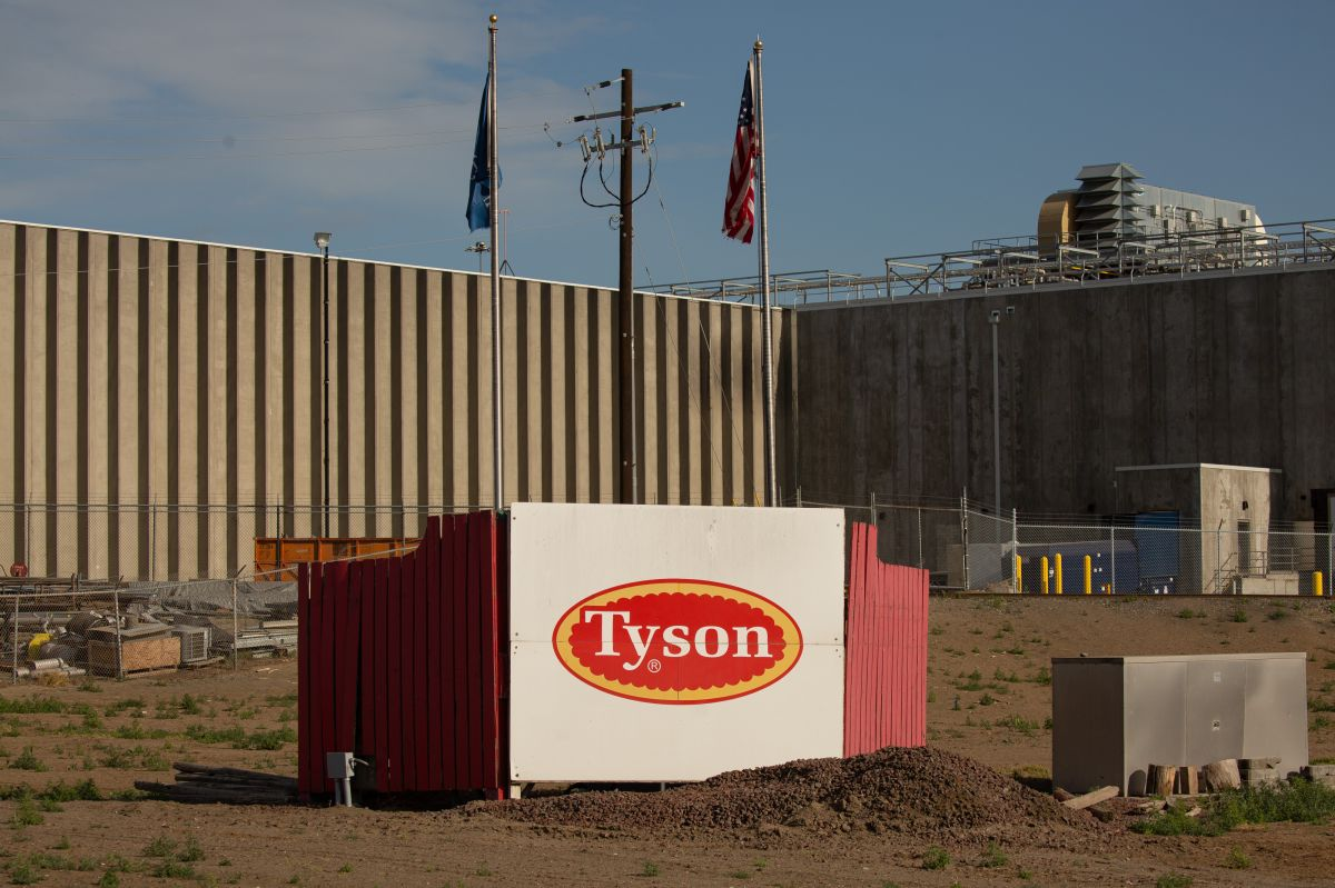 Tyson Foods suspends its managers without pay for placing bets among themselves on how many company workers would get sick from COVID-19