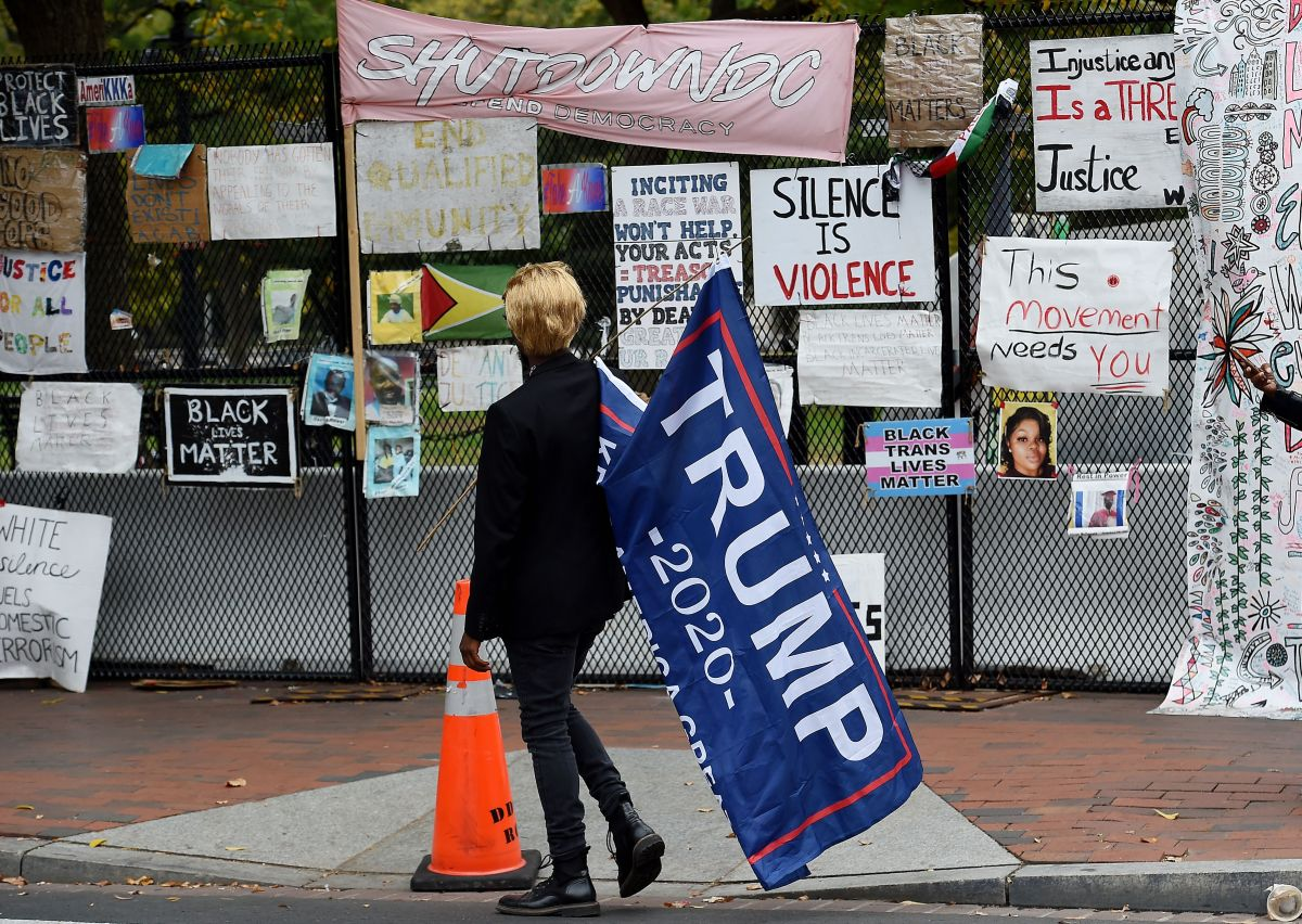 "Grupos conservadores convocan a la ""Marcha por Trump"" en Washington"