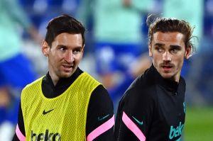 Se suma el tío a la polémica: Un familiar de Antoine Griezmann aseguró que por culpa de Leo Messi su sobrino no brilla en el Barcelona