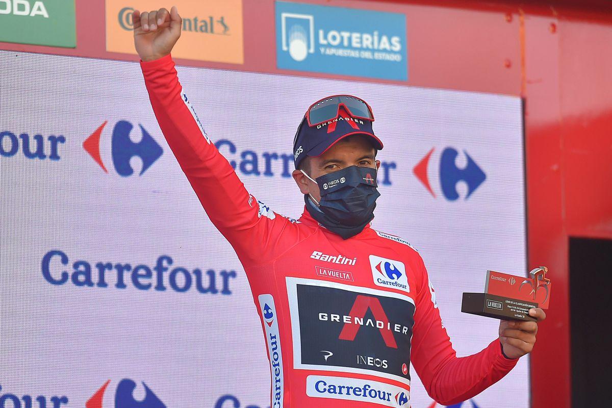 Richard Carapaz es embajador de la Vuelta Ciclística al Ecuador 2020