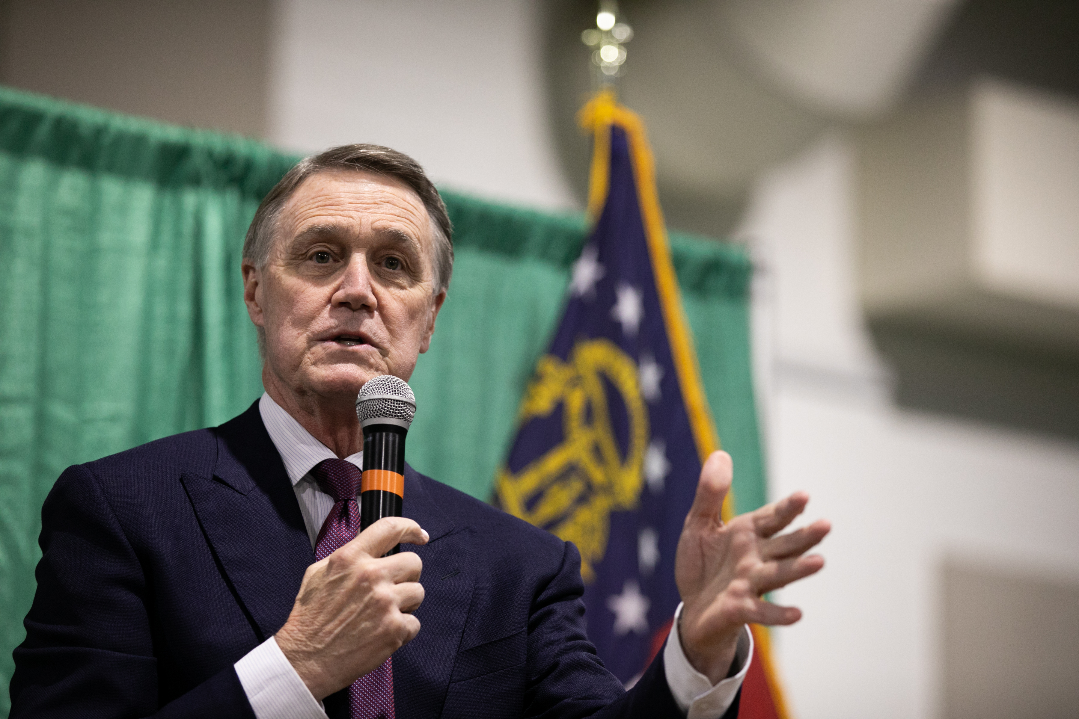 El senador David Purdue.