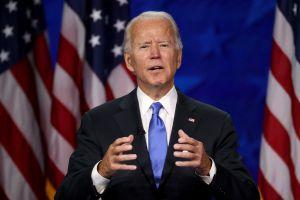 """Joe Biden: """"Vamos a ganar esta carrera con una clara mayoría, con la nación detrás de nosotros"""""""