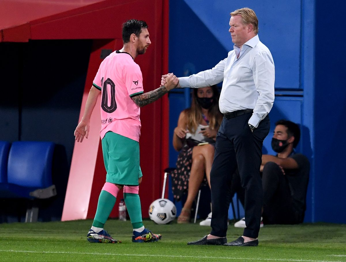 Ronald Koeman defends Messi amid controversy: