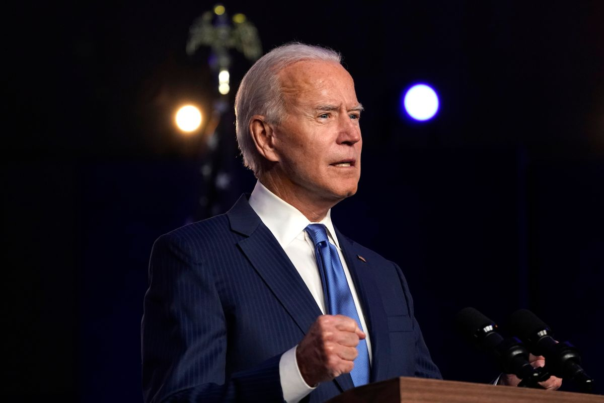 Biden thinks Congress will agree on stimulus checks when Trump leaves the White House