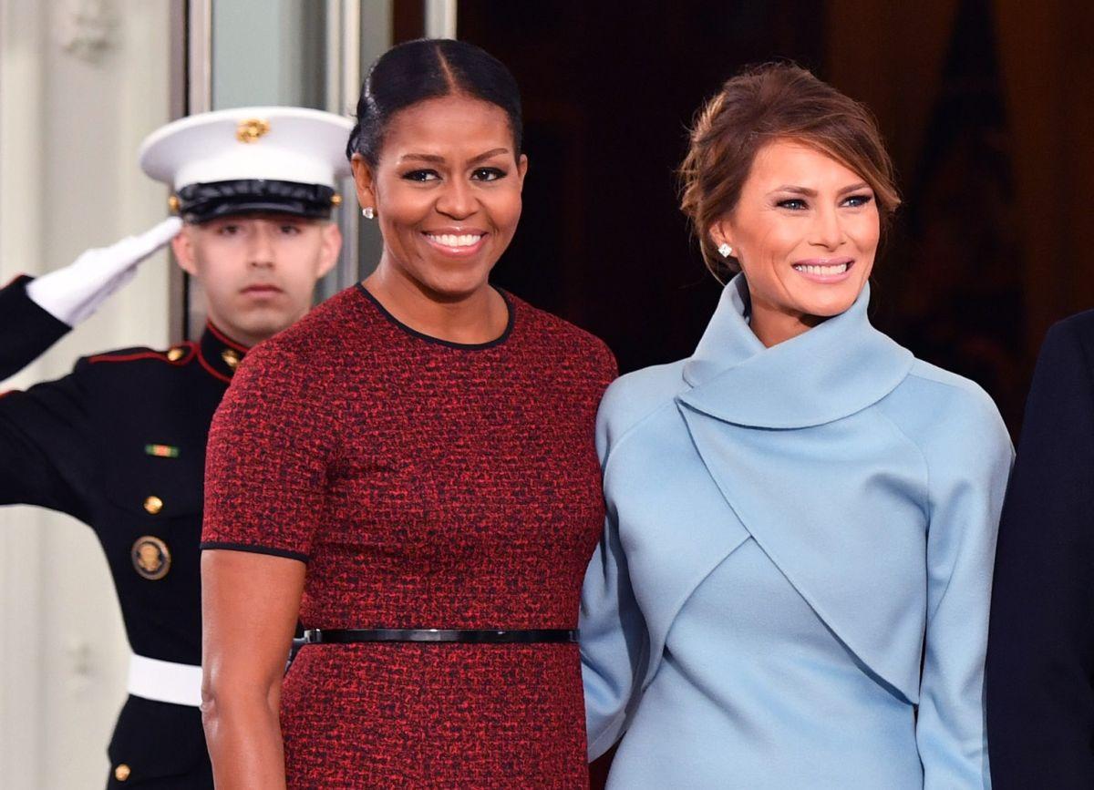"""Michelle Obama reconoce que aceptó reunirse con Melania Trump """"por el bien del país""""; pide avanzar en transición"""