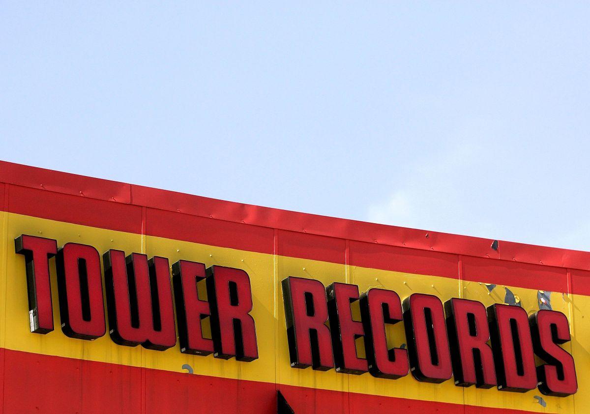 Tower Records regresa al mercado a través de una tienda de música en línea