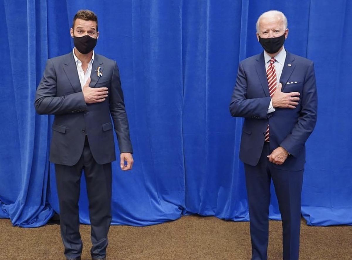 Salma Hayek, Ricky Martin, Luis Fonsi y más famosos reaccionan a la confirmación de Joe Biden presidente
