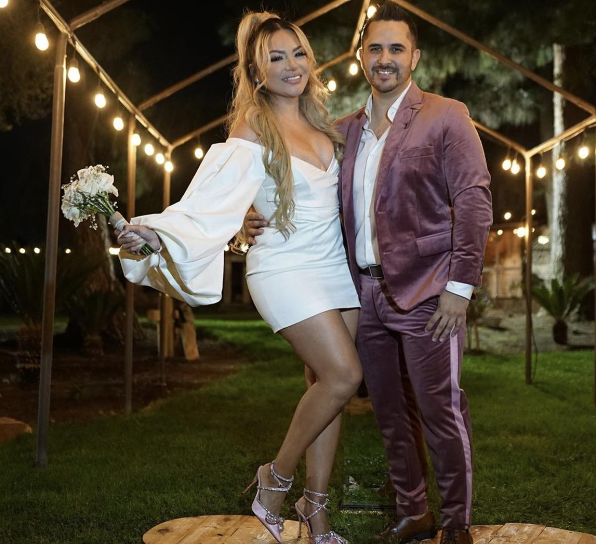 Helen Ochoa se casó con Juan Pablo Santos