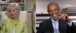 """Isabel Allende a Barack Obama: """"Tú Luces muy HOT"""""""