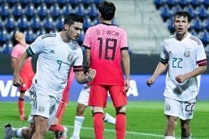 """Con altibajos de su """"valioso"""" tridente, México se impuso a Corea del Sur en amistoso internacional"""
