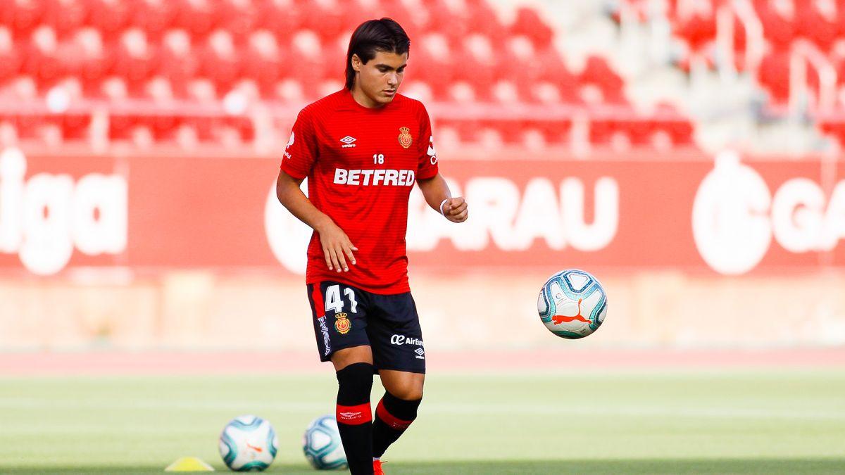 """Luka Romero, el """"Nuevo Messi"""", marca su primer gol con el Mallorca"""