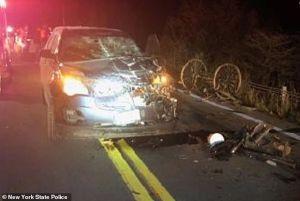 Adolescente Amish murió al chocar su carreta de caballo con un auto en Nueva York