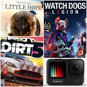 Reseña: Watch Dogs Legion, Go PRO HERO9 Black, DIRT 5 y The Dark Pictures Anthology: Little Hope