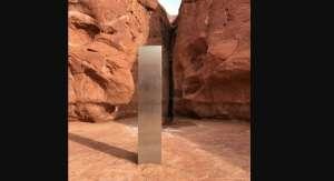 La desaparición del misterioso monolito de metal que fue hallado en Utah