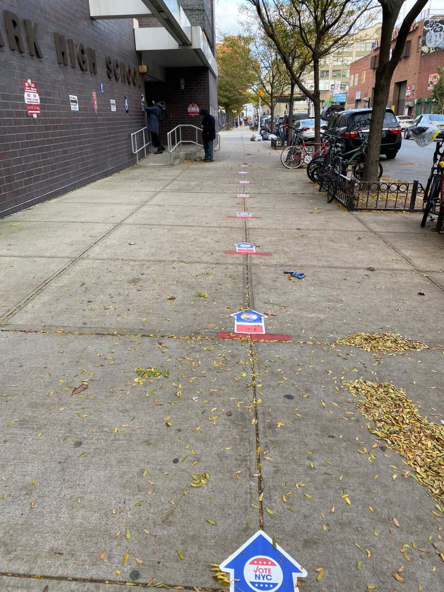 Jornada electoral en NYC.