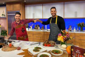 ¡Mira!... Chef Yisus invita a Chef James, ex de 'Un Nuevo Día', a su cocina de 'Despierta América'