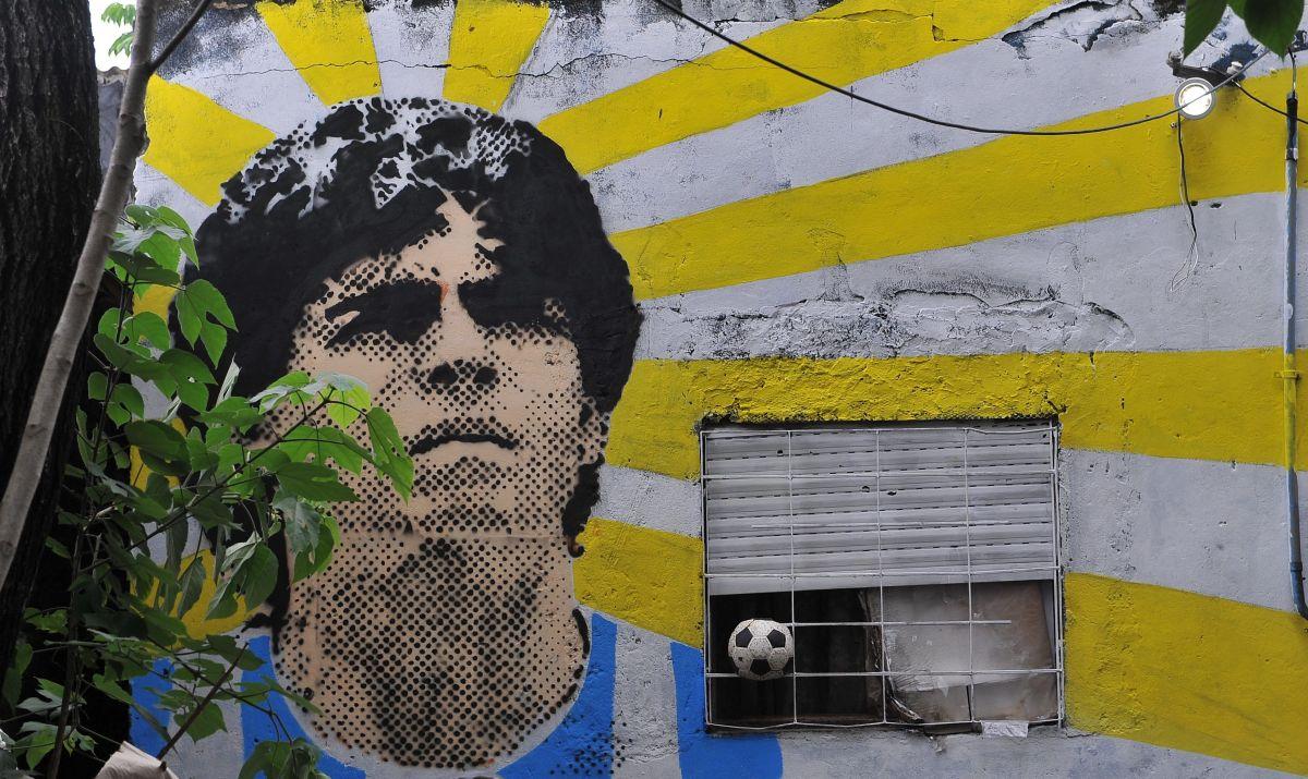 ¿Es la silueta de Maradona lo que se vio en el cielo? La imagen tras la muerte del 10 que se volvió viral