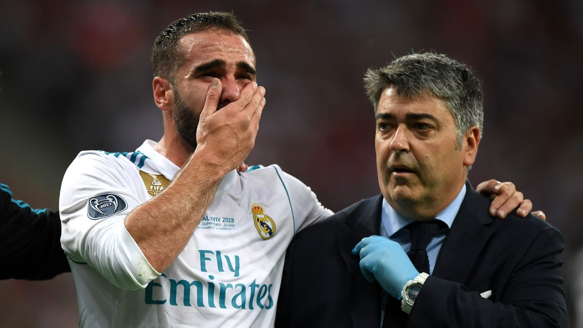 Carvajal es baja en el hospital llamado Real Madrid