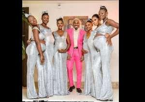 FOTOS: Hombre llega a una boda con seis mujeres embarazadas; dice que los seis bebés son suyos