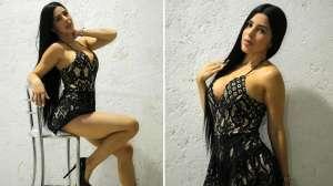 Jimena Araya, la actriz venezolana que fue vinculada con la mafia, se luce en bikini