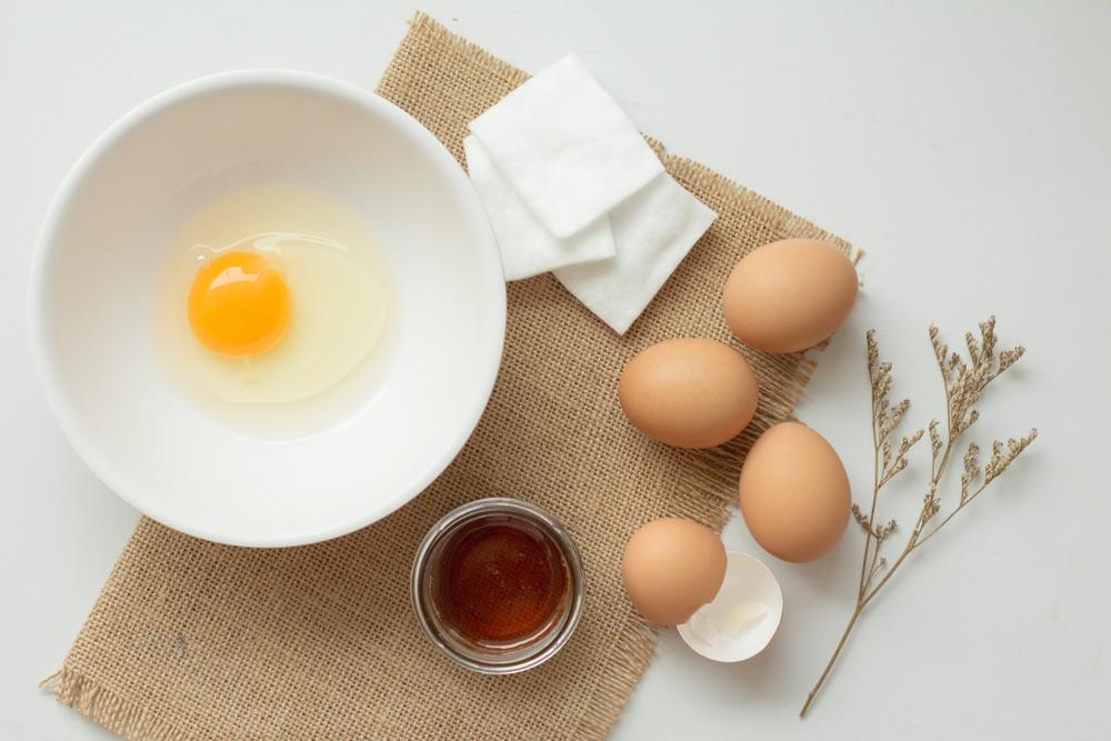 Egg and honey
