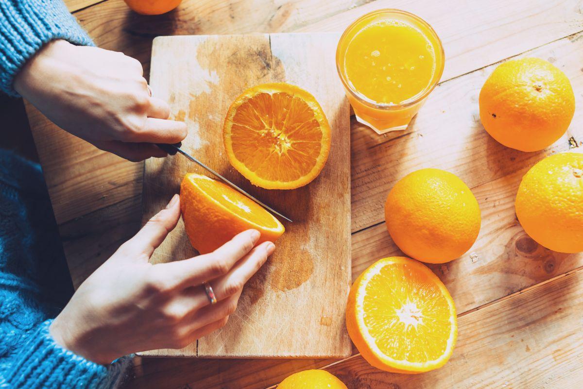 Cómo perder peso con la dieta de la naranja