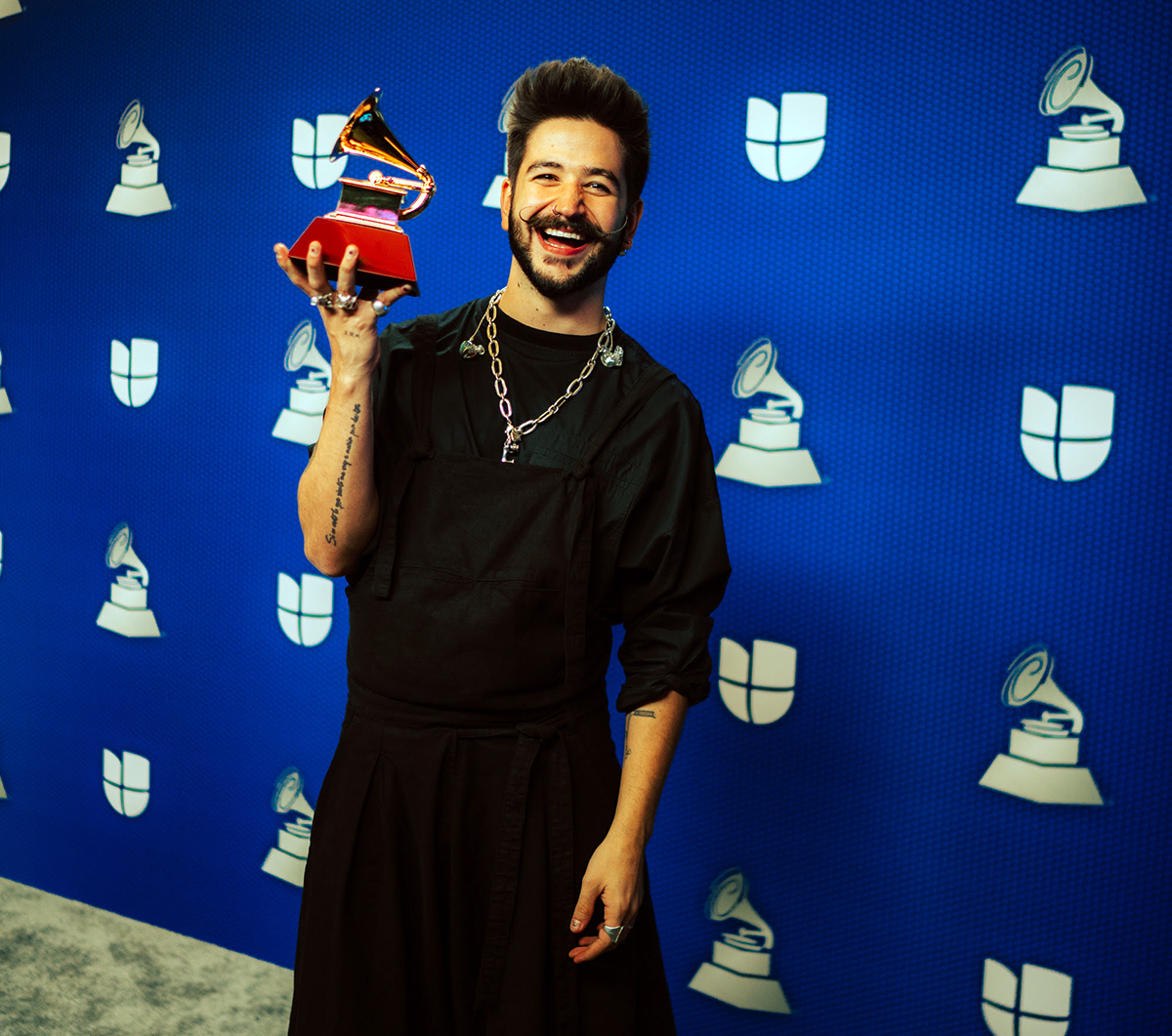 After winning his first Latin Grammy, Camilo confesses how 'Tutu' was born