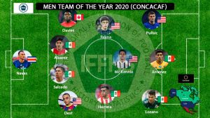 El 11 ideal del año de Concacaf tiene un tico, un canadiense, 4 estadounidenses y 5 mexicanos