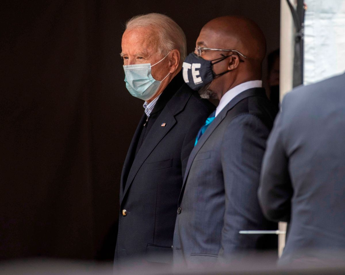 Biden says new coronavirus aid is on the way, but asks Senate vote for Democrats in Georgia