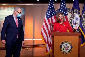 El problema que enfrentan demócratas para el tercer cheque de estímulo de $1,400