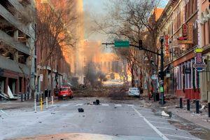 Lo que se sabe de la explosión ocurrido en la mañana de Navidad de Nashville