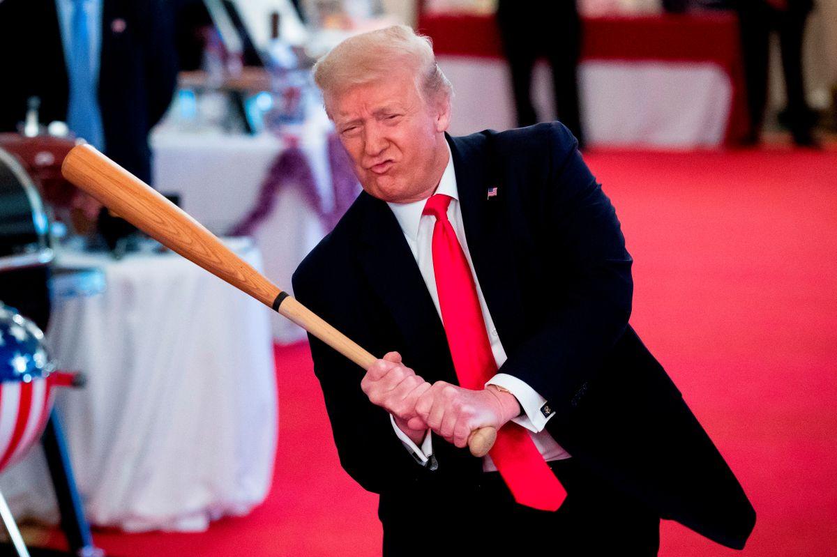 Trump había adelantado en Twitter los avances.