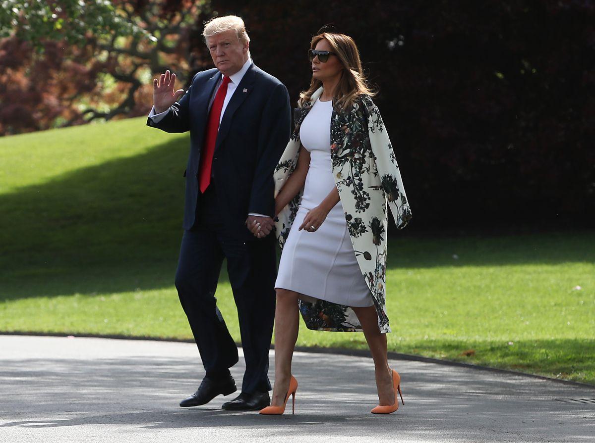 Trump y Melania buscan otra casa en Florida para evitar problemas con vecinos