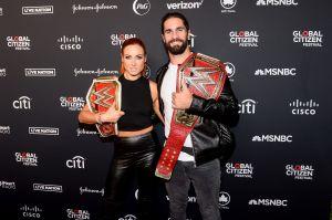 Su título más importante: Becky Lynch y Seth Rollins, de la WWE, se convirtieron en padres
