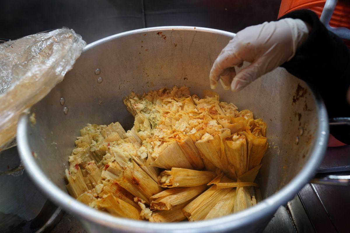 El tamal es un plato típico mexicano y de otros países hispanoamericanos.