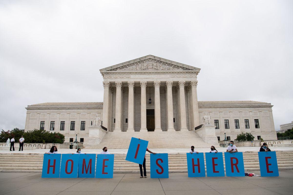 La batalla legal por DACA podría volver a la Corte Suprema.